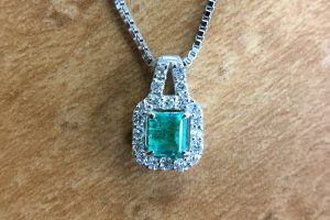 emerald pendant 20210609