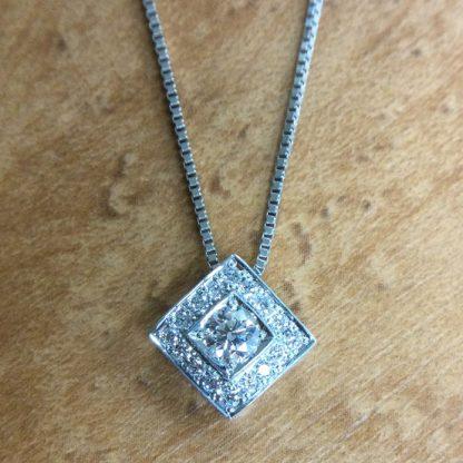 Custom Order Diamond Pendant